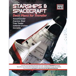 Traveller: Starships and Spacecraft Deck Plan Set