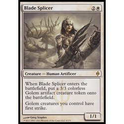 Magic löskort: New Phyrexia: Blade Splicer