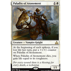 Magic löskort: Rivals of Ixalan: Paladin of Atonement