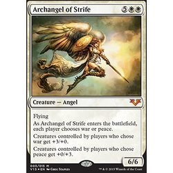 Magic löskort: Angels: Archangel of Strife