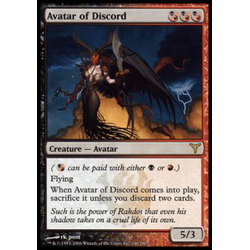 Magic löskort: Dissension: Avatar of Discord (Prerelease Foil)