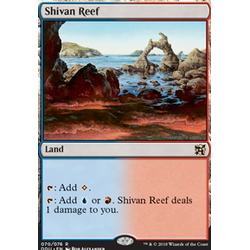 Magic löskort: Duel Decks: Elves vs Inventors: Shivan Reef