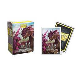 "Card Sleeves Standard Art ""Father's Day Dragon"" 63x88mm (100 in box) (Dragon Shield)"
