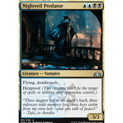 Magic löskort: Guilds of Ravnica: Nightveil Predator