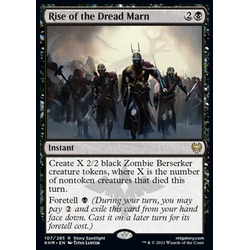 Magic löskort: Kaldheim: Rise of the Dread Marn