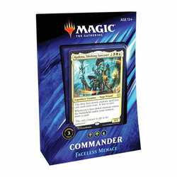 Magic The Gathering: Commander Deck 2019 - Faceless Menace (Italienska)