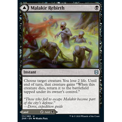 Magic löskort: Zendikar Rising: Malakir Rebirth // Malakir Mire