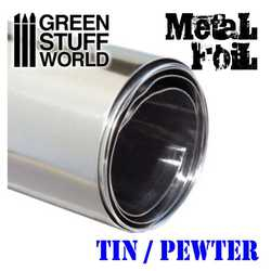 Flexible Tin Metal Foil
