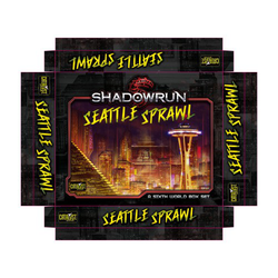 Shadowrun: Seattle Sprawl Box