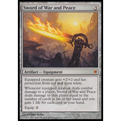 Magic löskort: New Phyrexia: Sword of War and Peace