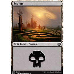 Magic löskort: Kaladesh: Swamp (Foil)