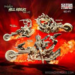 Sisters of Eternal Mercy: Hell Riders Daughters Box 2