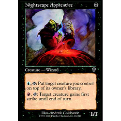 Magic löskort: Invasion: Nightscape Apprentice