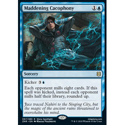 Magic löskort: Zendikar Rising: Maddening Cacophony