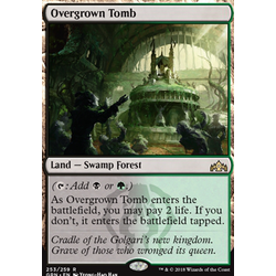 Magic löskort: Guilds of Ravnica: Overgrown Tomb