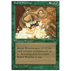 Magic löskort: Chronicles: Rabid Wombat