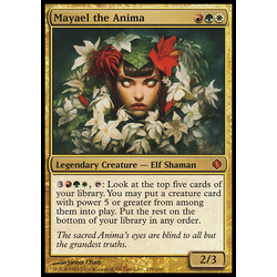 Magic löskort: Shards of Alara: Mayael the Anima