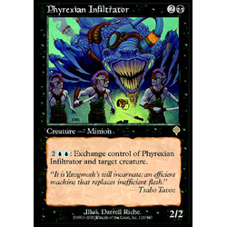 Magic löskort: Invasion: Phyrexian Infiltrator