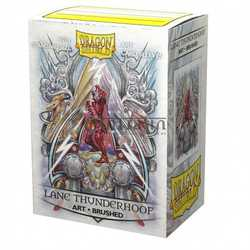 "Card Sleeves Standard Art ""Lane Thunderhooof: Coat-of-Arms"" 63x88mm (100 in box) (Dragon Shield)"
