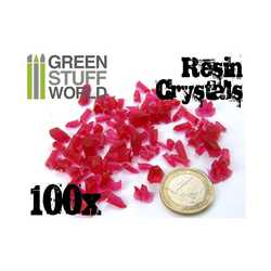 Green Stuff World -  Small Red Crystals