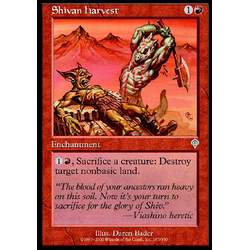 Magic löskort: Invasion: Shivan Harvest