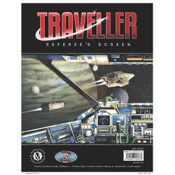 Traveller 4th ed: Referee's Screen