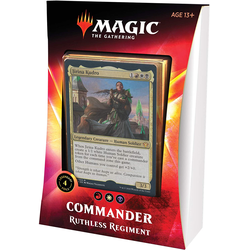 Magic The Gathering: Ikoria Commander Deck 2020 Ruthless Regiment