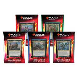 Magic The Gathering: Ikoria Commander Deck 2020 Bundle (en av varje)
