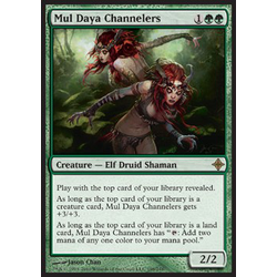 Magic löskort: Rise of the Eldrazi: Mul Daya Channelers
