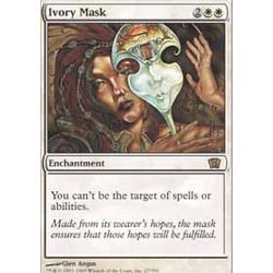 Magic löskort: 8th Edition: Ivory Mask