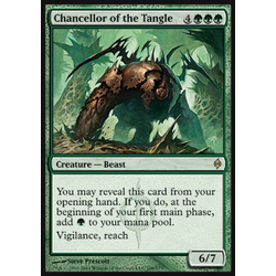Magic löskort: New Phyrexia: Chancellor of the Tangle