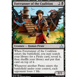 Magic löskort: Rivals of Ixalan: Forerunner of the Coalition