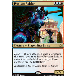 Magic löskort: Rivals of Ixalan: Protean Raider