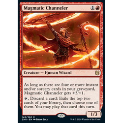 Magic löskort: Zendikar Rising: Magmatic Channeler