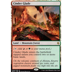 Magic löskort: Battle for Zendikar: Cinder Glade