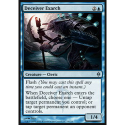 Magic löskort: New Phyrexia: Deceiver Exarch