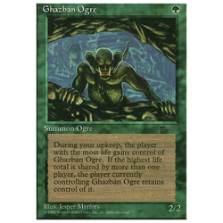 Magic löskort: Chronicles: Ghazban Ogre