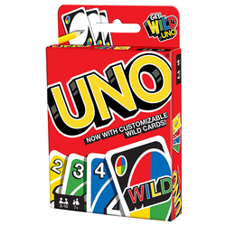 Uno Card Game (2013 Refresh, eng. regler)