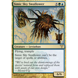 Magic löskort: Dissension: Simic Sky Swallower