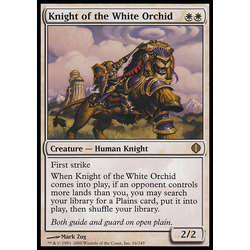 Magic löskort: Shards of Alara: Knight of the White Orchid
