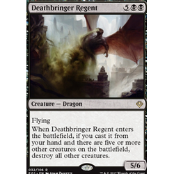 Magic löskort: Archenemy: Nicol Bolas: Deathbringer Regent