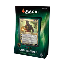 Magic The Gathering: Commander Deck 2018 - Nature's Vengeance (franska)