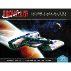 Traveller 4th ed: Elemental Class Cruisers Shipbuilders Blueprints