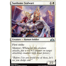 Magic löskort: Guilds of Ravnica: Sunhome Stalwart