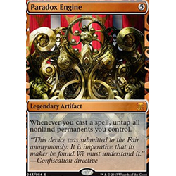 Magic löskort: Kaladesh Inventions: Paradox Engine