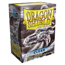 Card Sleeves Standard Clear (100 in box) (Dragon Shield)