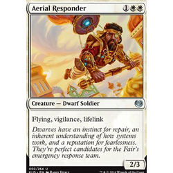 Magic löskort: Kaladesh: Aerial Responder (foil)