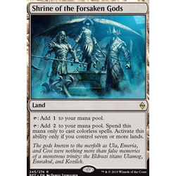 Magic löskort: Battle for Zendikar: Shrine of the Forsaken Gods