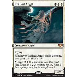 Magic löskort: Angels: Exalted Angel