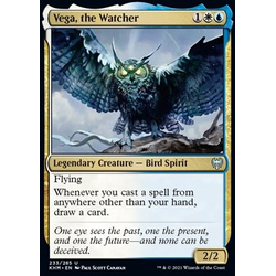 Magic löskort: Kaldheim: Vega, the Watcher